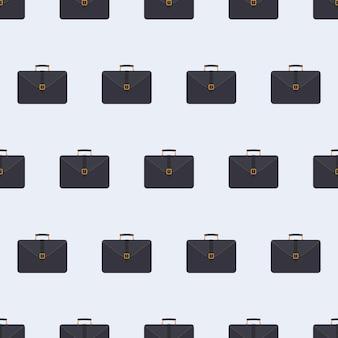 Чемодан бизнес бесшовные модели. чемодан для документов и ноутбук.