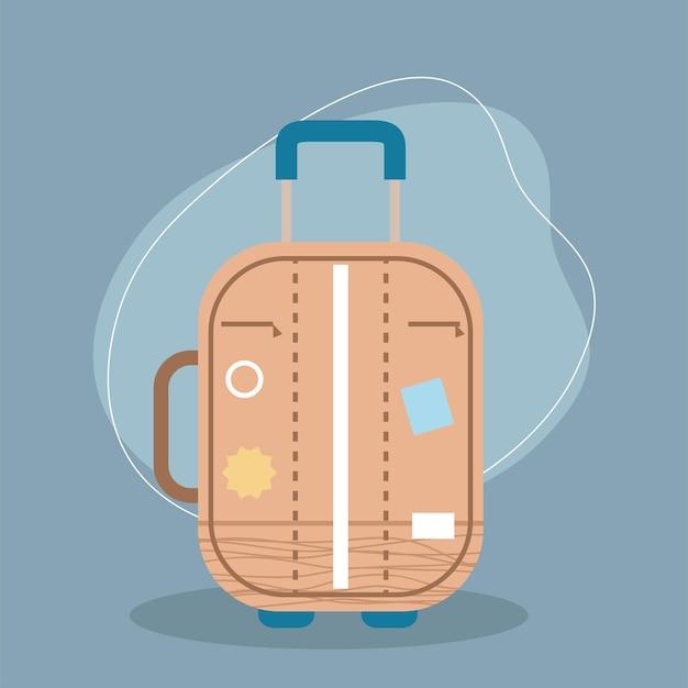 ホイールのスーツケース