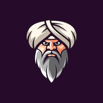 Дизайн иллюстрации султана.