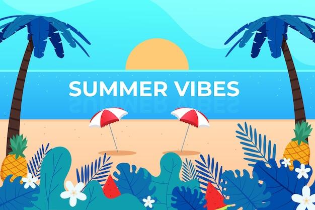 Summer background concept