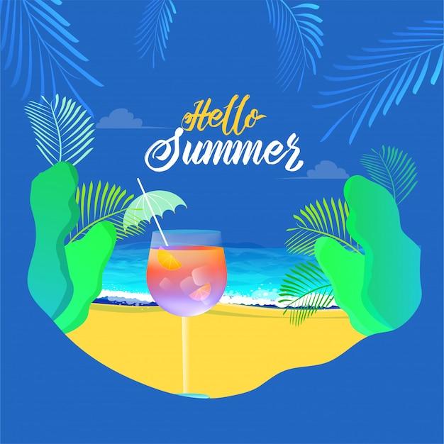 Summer background.