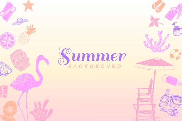 Summer background