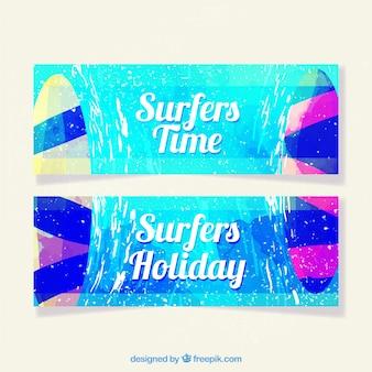 Collezione summer banners