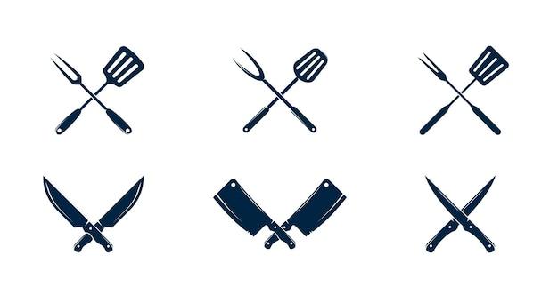 Нож и лопатка для гриля summer
