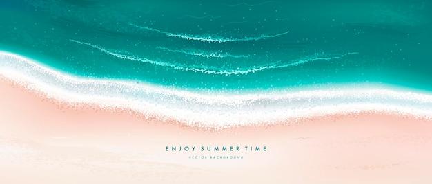 여름 해변 배경