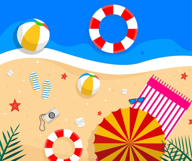 Летняя пляжная квартира