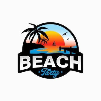 サマービーチのロゴ