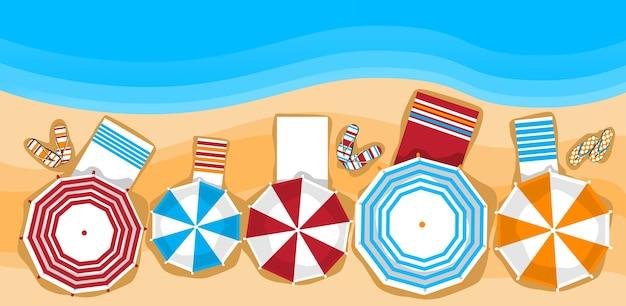 サマービーチ Premiumベクター