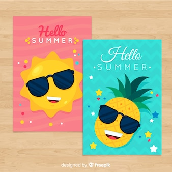 Summer card collection