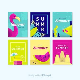 여름 카드 수집
