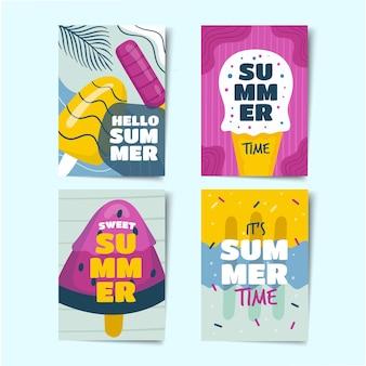 Pacchetto di carte estive
