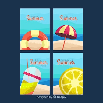 Summer cards collection