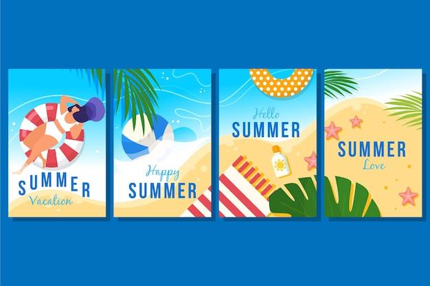 Концепция летних карт