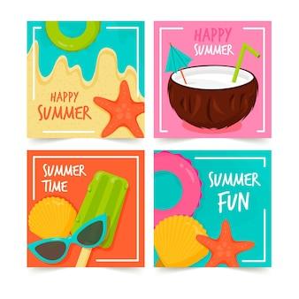 Пакет летних открыток