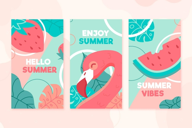 Летние открытки установить шаблон темы