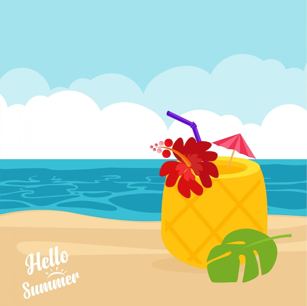 Summer coctail