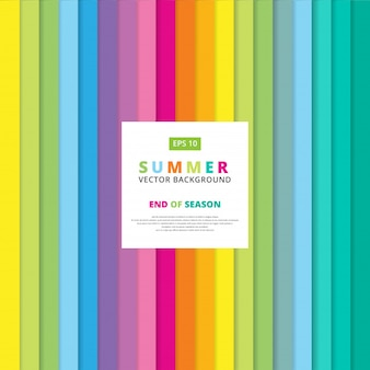 Summer colorful striped vertical line pattern