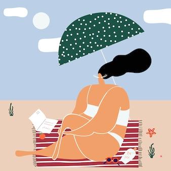 Летние дни на пляже