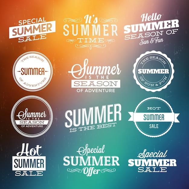 Free Summer Design Elements Svg Dxf Eps Png Vector Svg File Free Download