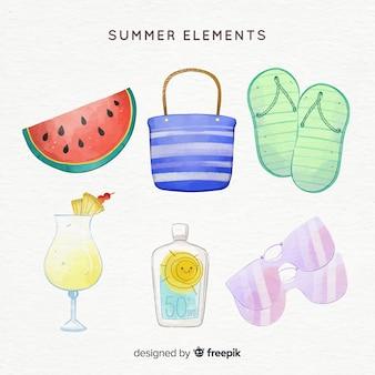 Летняя коллекция элементов