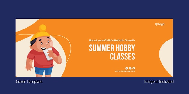 Summer hobby classes cover page