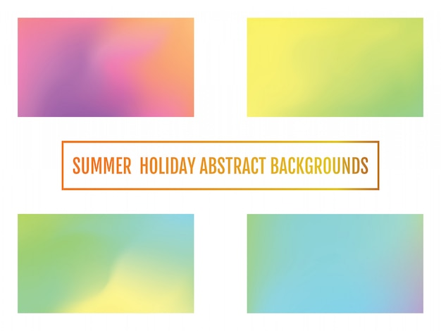 Summer holiday background, abstract background