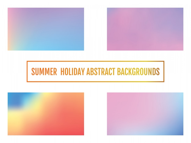 Summer holiday background abstract