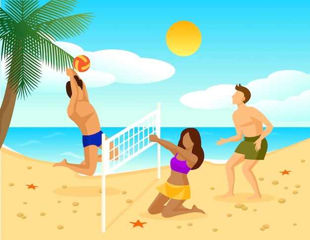 Концепция квартиры летнего отдыха