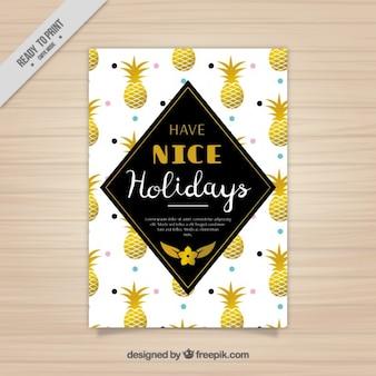 Summer holidays brochure