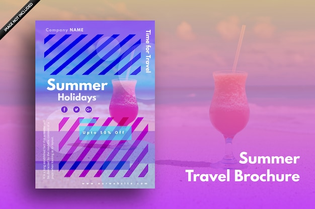 Summer holidays cover