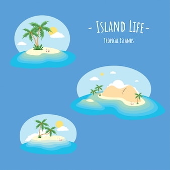 Летний остров