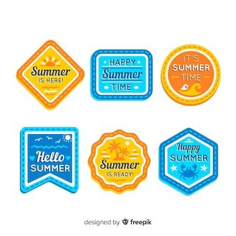 여름 라벨 모음