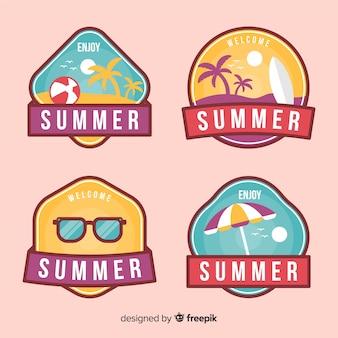 Summer label collectio