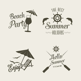 Summer logo design