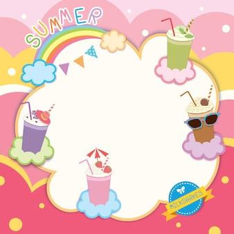 Summer milkshakes