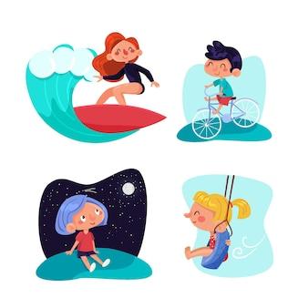 여름 야외 활동