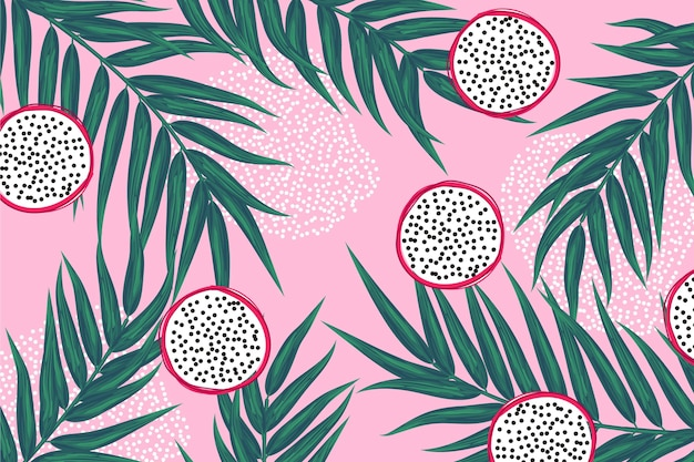 Summer pattern background for zoom app