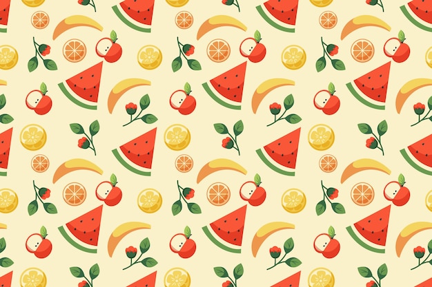 Summer pattern background for zoom