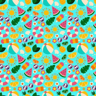 Summer pattern collection design