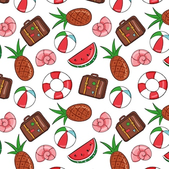 여름 패턴 컬렉션