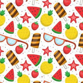 Summer pattern concept