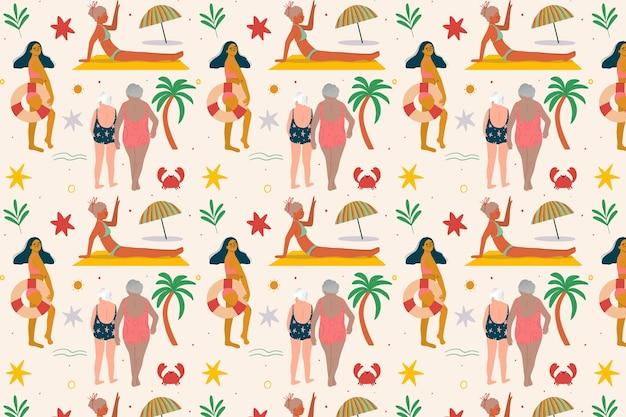 ズームの夏のパターン