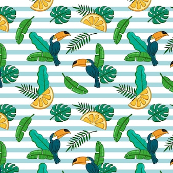 여름 패턴 세트