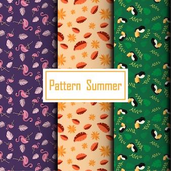 Summer pattern set