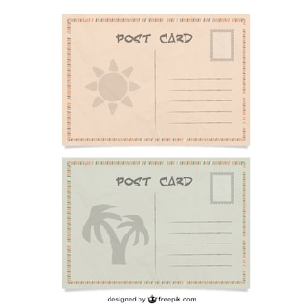 Summer post cards