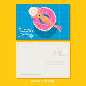 Summer postcard