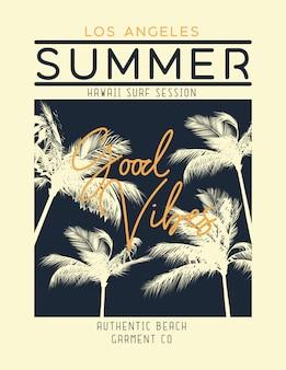 Summer print design