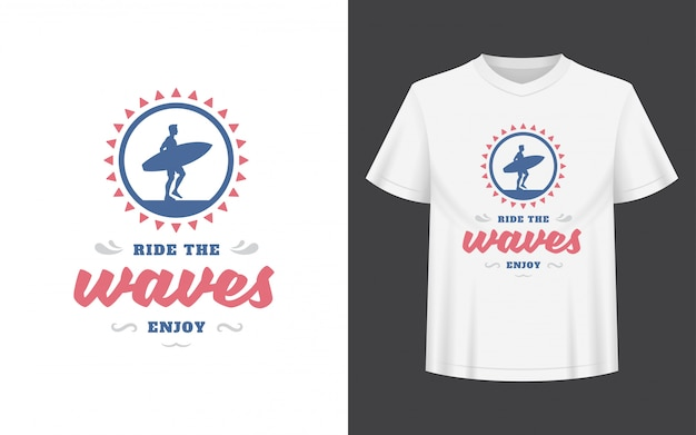 Tシャツ、マグカップ、グリーティングカードに使用できる夏の引用またはことわざ