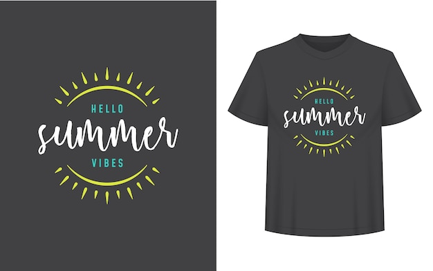 Summer quote or saying can be used for tshirt