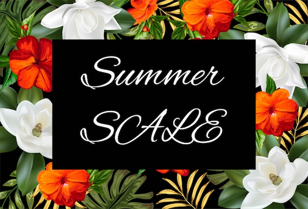 Summer sale background  banners